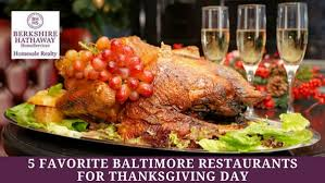 article five favorite baltimore restaurants for thanksgiving