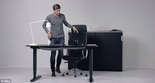 Convert Normal Desk To Standing Desk Lovely Ikea Adjustable Standing Desk Convert The Finnvard Into A