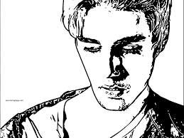 download justin bieber coloring page ziho coloring