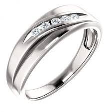mens white gold diamond wedding bands mens channel set diamond wedding band in 14k white gold mens