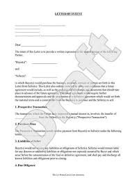 Sle Letter Of Intent For Salary Loan letter of intent loi template rocket lawyer