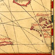 The Bahamas Map Bahamas Chart Cuba 1650 Vingboons Battlemaps Us
