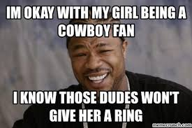 Cowboy Fan Memes - diss