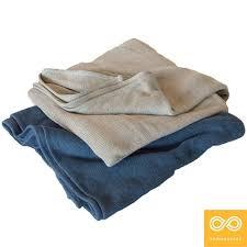hemp blanket with flax linen