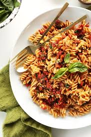 sun dried tomato pasta minimalist baker recipes