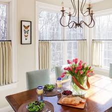 Curtain For Dining Room by 27 Best Cafe Curtains Images On Pinterest Kitchen Windows