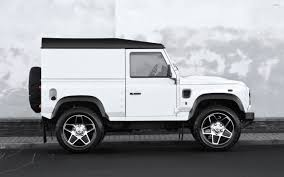kahn land rover defender kahn land rover defender side view 2 wallpaper car wallpapers
