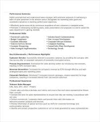 Telecom Sales Executive Resume Sample by 43 Sales Resume Templates Free U0026 Premium Templates