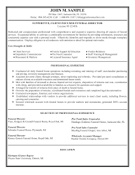view basic resume sles funeral director resume sales executive resume sle job