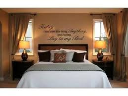 Song Bedroom Lay In My Bed Bruno Mars Lazy Song Wall Decal Words Lettering