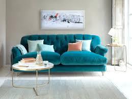teal velvet chesterfield sofa livingroom teal velvet sofa blue couch kendall chesterfield for