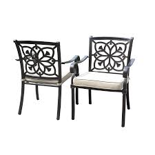 dining chairs aluminum dining room chairs toscano cast aluminum