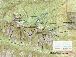 Cascade Mountains Map Downing Mountain Lodge