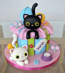 1022 best cat cakes images on pinterest cat cakes birthday