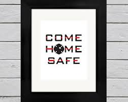 firefighter home decorations firefighter love etsy