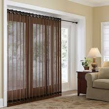 beautiful window treatments for sliders inspiration home designs