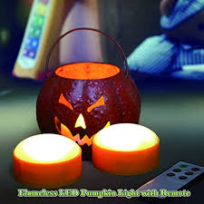 pumpkin lights candle choice set of 2 led pumpkin lights with remote and timer