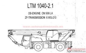 free auto repair manual liebherr crane service manual