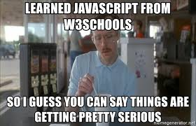 Meme Generator Javascript - learned javascript from w3schools so i guess you can say things