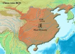 Luoyang China Map by Han Dynasty By Justin Sharma