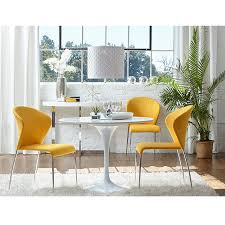 modern yellow kitchen modern dining chairs sy yellow side chair eurway