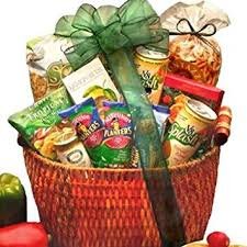 vegetarian gift basket heart healthy vegetarian snack food basket fathers