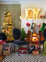 Beautifully Decorated Homes For Christmas Living Room Living Room Christmas Living Room Christmas 4