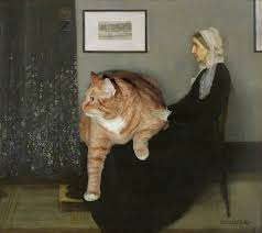 mona cat fat cat 22 pound feline appears in u0027mona lisa u0027 and other famous