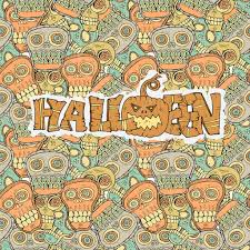 free repeatable halloween background seamless halloween pattern background with sculls and bones