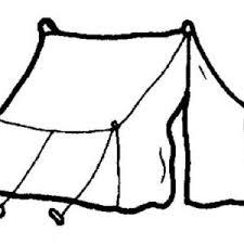 boy sleeping at camping tent coloring page coloring sun