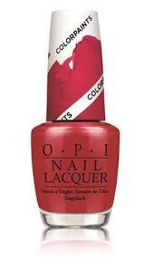 opi chromatic orange nail polish nlp21 opi nail polish