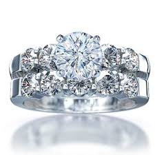 ring diamond wedding wedding ring sets 1 60ct brilliant diamond 18k white gold
