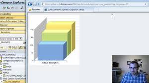 tutorial java web dynpro abap webdynpro business graphics 3d sap tutorial part 10 youtube