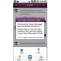 yahoo messenger app for android yahoo messenger in 1 4 free for android