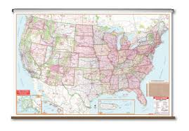Universal Map Universal Map Large Scale Wall Map United States U0026 Reviews Wayfair