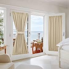 Window Covering For French Patio Door Window Treatment For Patio Doors Amazon Com