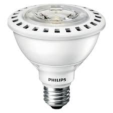 Home Depot Outdoor Led Lights Philips 75w Equivalent Bright White Par30s Ulw Indoor Outdoor Led