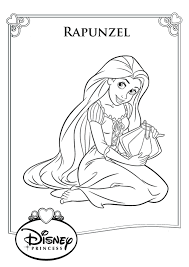 rapunzel color pages to print activity shelter coloring pages