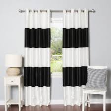 Black And White Thermal Curtains Great Black And White Thermal Curtains Ideas With Best Home