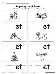116 best sounds worksheet images on pinterest preschool