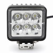 led work lights for trucks fk 3018 18w square epistar led work l light spot beam off road