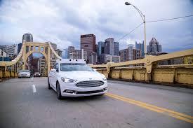 ford partner autonomous vehicles are