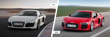 audi r8 headlights 2015 audi r8 tt and old r8 comparison carwow