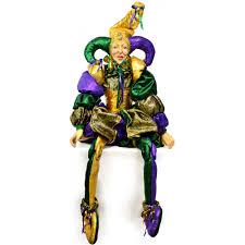 mardi gras doll whimsical mardi gras jester doll sized 55 xn4047t6