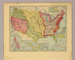 Map Of United States Of America by United States Of America 1900 David Rumsey Historical Map