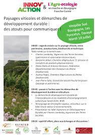 chambre d agriculture 71 paysages viticoles et démarches de développement durable des