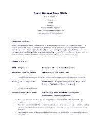 opening statement resume cv roula gar linkedin