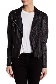 jacket moto blanknyc denim faux leather frankenstorm moto jacket nordstrom