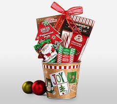 christmas gift basket christmas gift basket send hers online sweet treats by