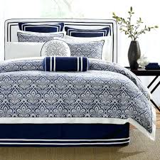 full size of simple classic bedroom with dark blue white bedding sets hampton navy blue duvet